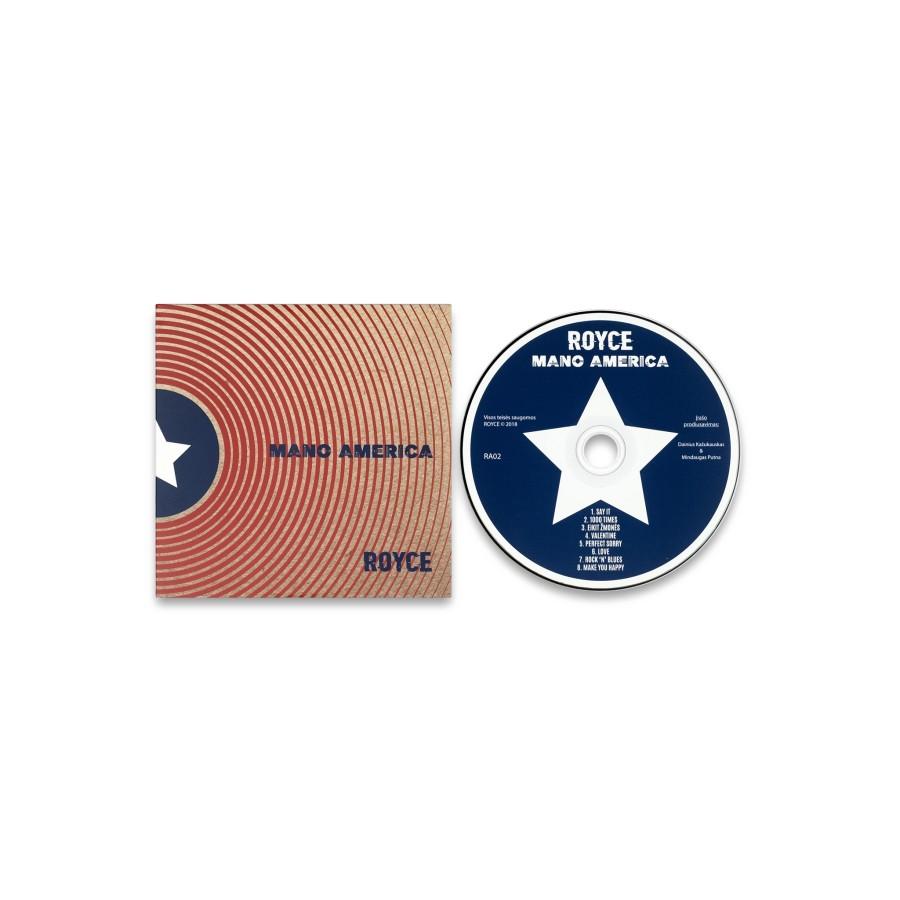 ROYCE - Mano America CD